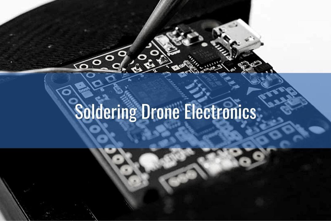 drone soldering